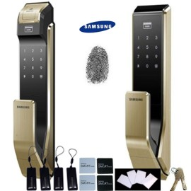 Fingerprint & Push Pull Innovation SAMSUNG SHS-P910 digital door lock